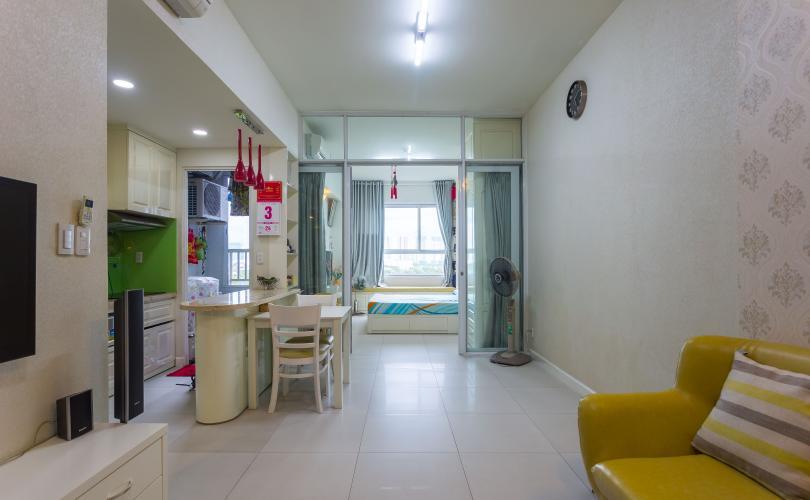 Tổng Quan Bán căn hộ Lexington Residence tầng thấp, 1PN, nội thất đầy đủ