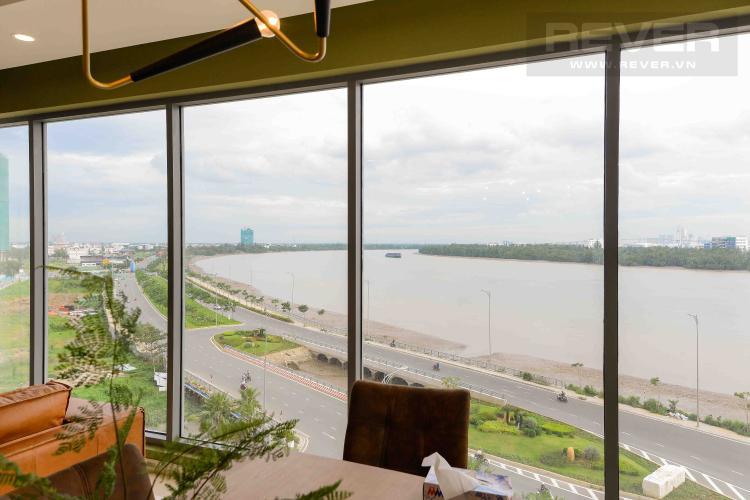 View Cho thuê căn hộ Diamond Island - Đảo Kim Cương 4PN, tháp Maldives, đầy đủ nội thất, view sông thoáng mát