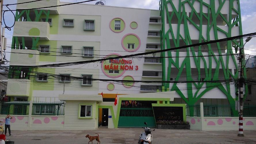 Kế bên trường Mầm non Nhà phố hẻm đường Tôn Thất Thuyết, phường 3, quận 4, diện tích đất 130.8m2, diện tích sử dụng 128.8m2