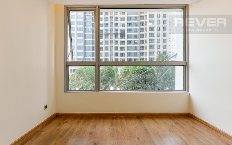 phòng ngủ Căn OfficeTel Vinhomes Central Park 1 phòng ngủ tầng thấp Park 1 nội thất cơ bản