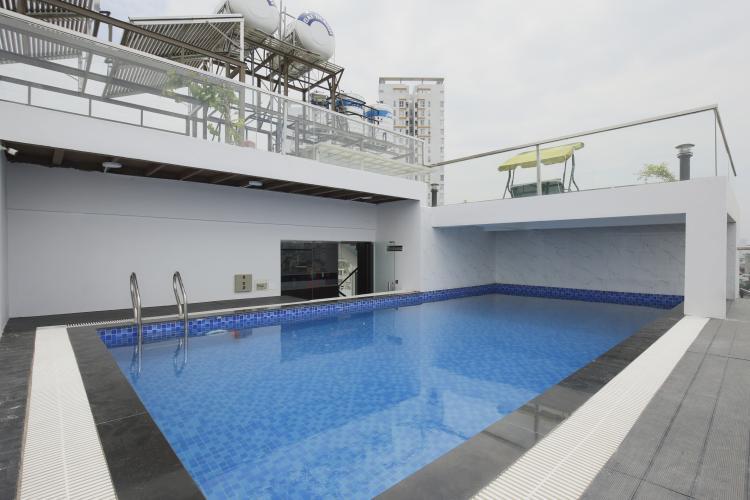 Hồ Bơi Căn hộ dịch vụ 2 phòng ngủ Trần Quang Diệu Quận 3