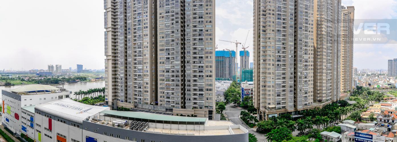 View Bán và cho thuê căn hộ Vinhomes Central Park tầng trung, 1PN, đầy đủ nội thất