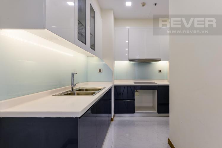 Bếp Căn hộ Vinhomes Central Park 2 phòng ngủ tầng cao P4 view sông