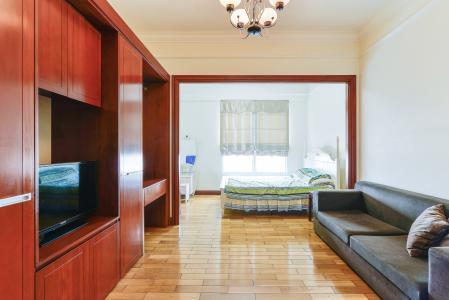 Căn hộ The Manor 2 tầng cao phòng ngủ đầy đủ nội thất