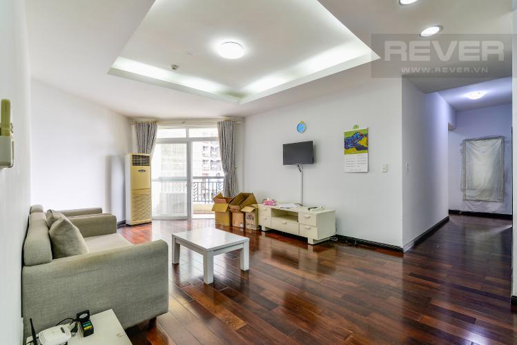 Phòng Khách Căn hộ Green View 3 phòng ngủ tầng thấp AC nội thất đầy đủ