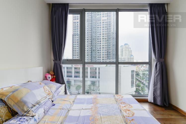 Phòng Ngủ 2 Căn hộ Vinhomes Central Park tầng thấp P6, 3 phòng ngủ, nội thất đầy đủ