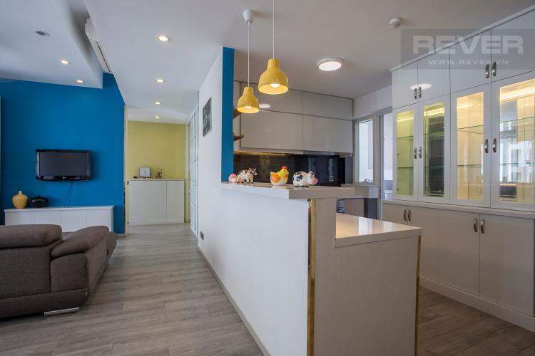 Khu Vực Bếp Căn hộ Estella Residence 3 phòng ngủ tầng cao 4A đầy đủ nội thất