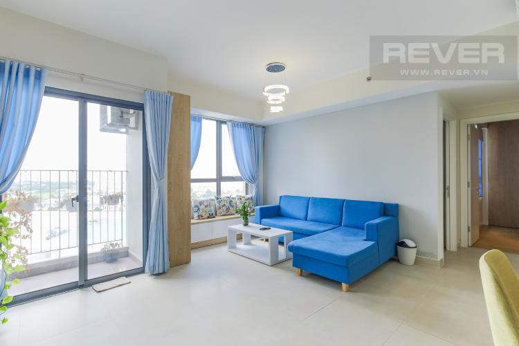 Phòng Khách Bán căn hộ Masteri Thảo Điền 2PN, đầy đủ nội thất, hướng Đông Nam mát mẻ