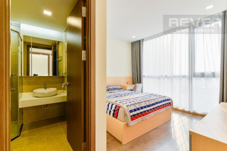 Phòng Ngủ 1 Căn hộ Vinhomes Central Park 2 phòng ngủ tầng trung P7 full nội thất