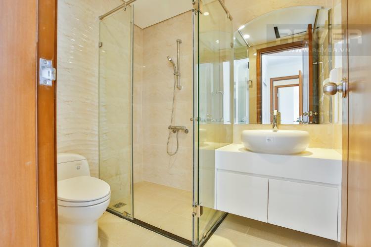 Phòng tắm 1 Căn hộ Vinhomes Central Park tầng cao hướng Đông Bắc tháp Landmark 2