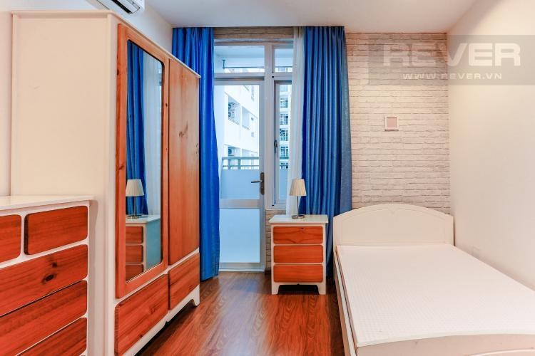 Phòng Ngủ 1 Căn hộ Him Lam Riverside 2 phòng ngủ tầng trung nội thất đầy đủ