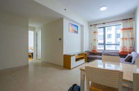 Căn hộ Masteri Thảo Điền tầng cao 2 phòng ngủ đầy đủ tiện nghi