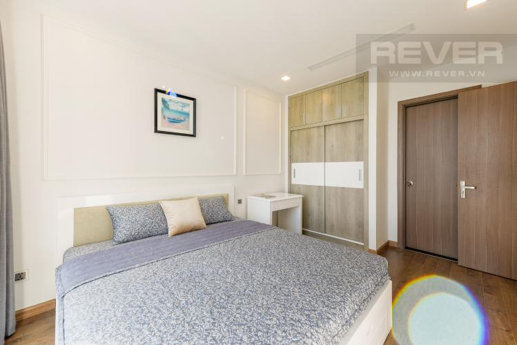 Phòng ngủ 1 Căn hộ Vinhomes Central Park 2PN tầng cao, tháp Park 6, view công viên và view sông