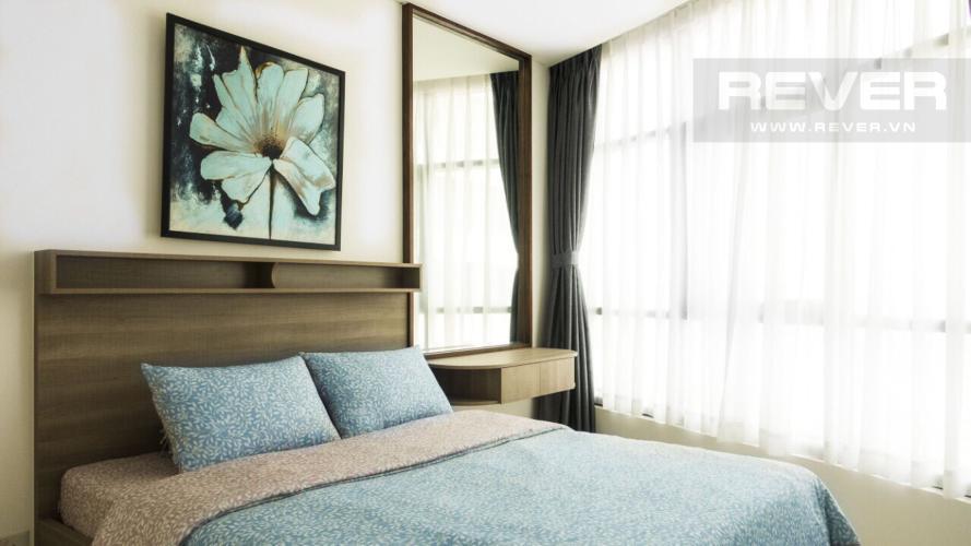 Phòng ngủ 1 Căn hộ City Garden tầng cao, 3PN đầy đủ nội thất, view đẹp