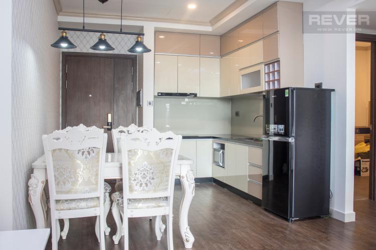 Phòng Bếp Bán hoặc cho thuê căn hộ Saigon Royal 1PN, tháp A, đầy đủ nội thất, view hồ bơi