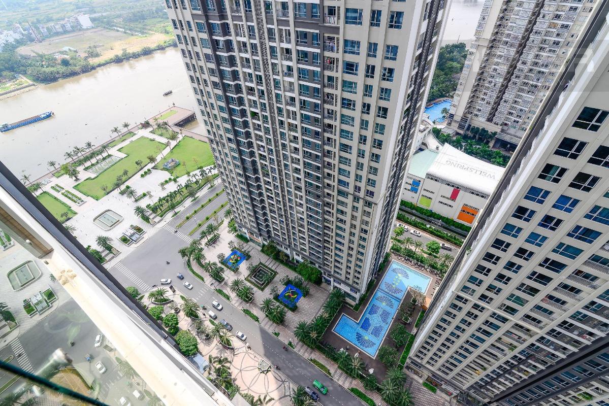 66c9de973bcbc2959bda Cho thuê căn hộ Vinhomes Central Park 2PN, tháp Park 1, đầy đủ nội thất, view mé sông
