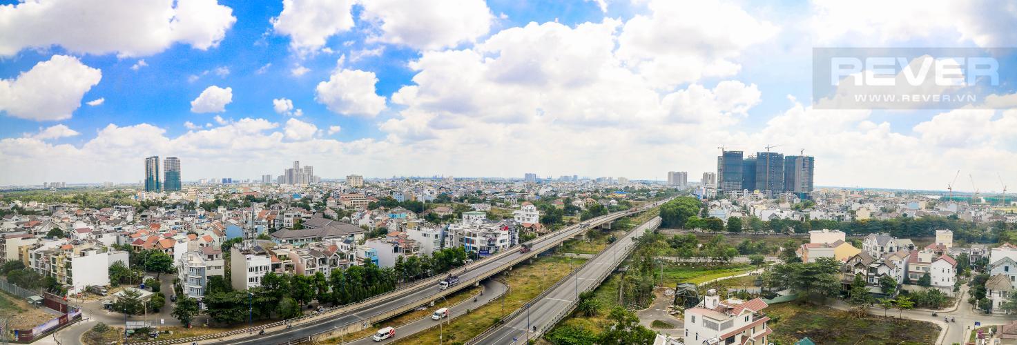 View Bán căn hộ office-tel The Sun Avenue 1PN 1WC, nội thất cơ bản, view thành phố
