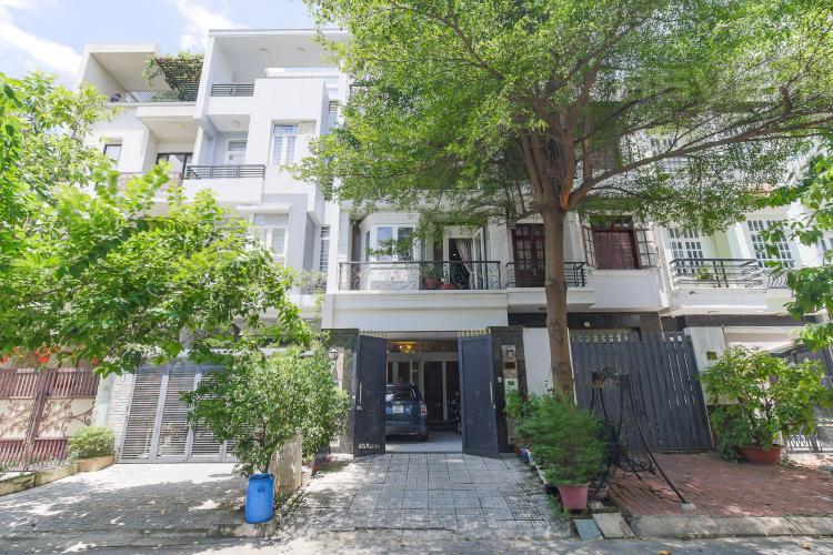 Bán nhà phố Số 17 Khu B, Khu đô thị An Phú - An Khánh, Quận 2, diện tích đất 105m2, đầy đủ nội thất