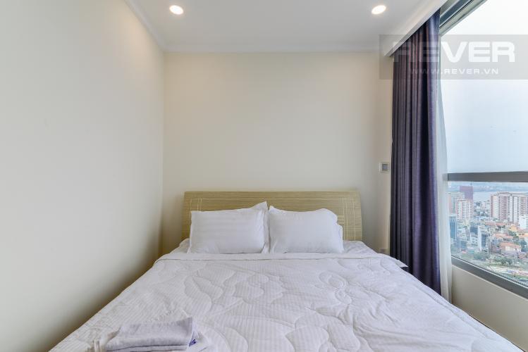 Phòng Ngủ 1 Căn hộ Vinhomes Central Park 2 phòng ngủ tầng cao Landmark 6