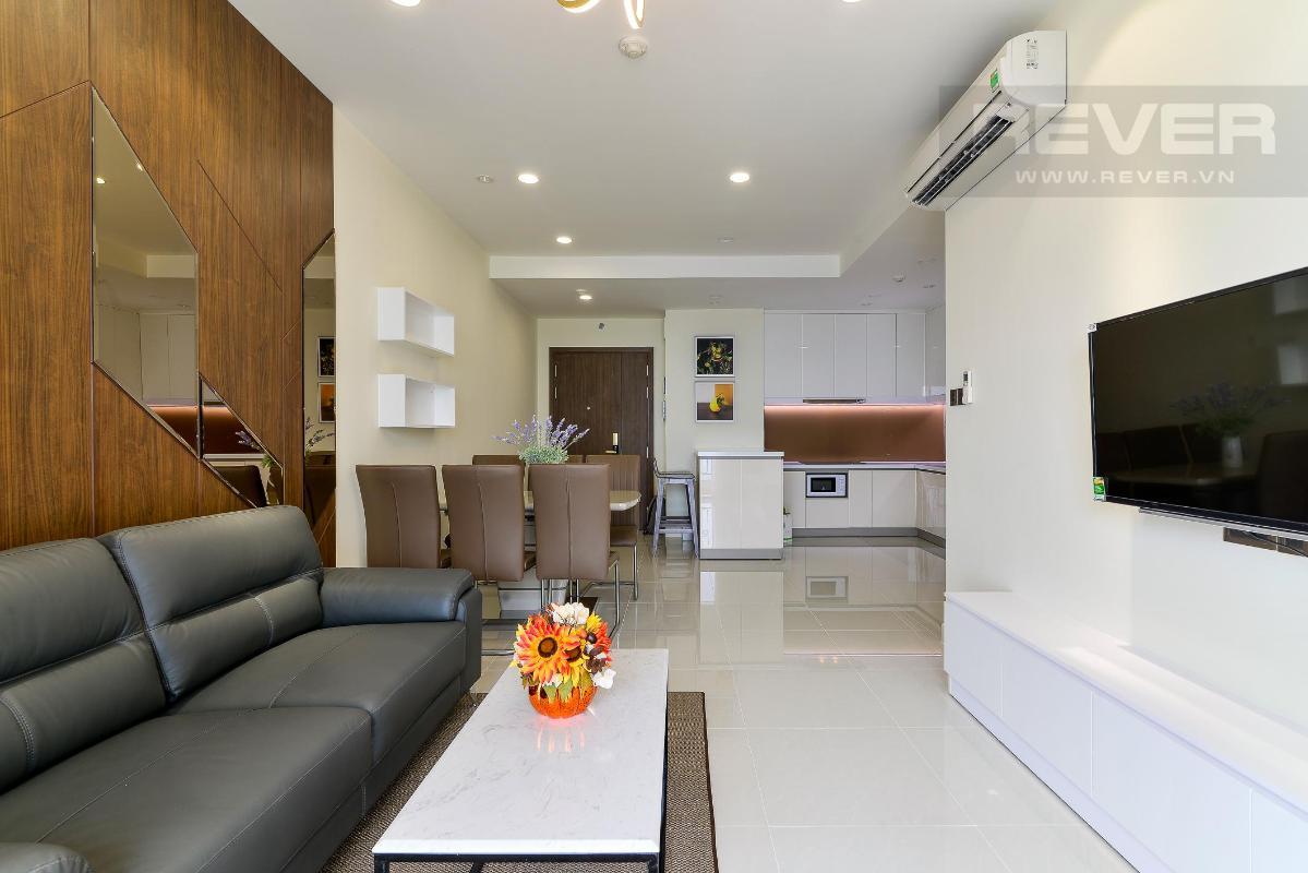 c21b42a203ffe5a1bcee Cho thuê căn hộ The Tresor 2PN, tháp TS1, diện tích 86m2, đầy đủ nội thất, view Bitexco và sông Sài Gòn