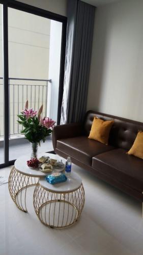 Phòng khách căn hộ Vinhomes Grand Park Căn hộ Vinhomes Grand Park view nội khu yên tĩnh, nội thất đầy đủ.