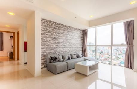 Căn hộ Sunrise City 2 phòng ngủ tầng thấp V4 đầy đủ nội thất