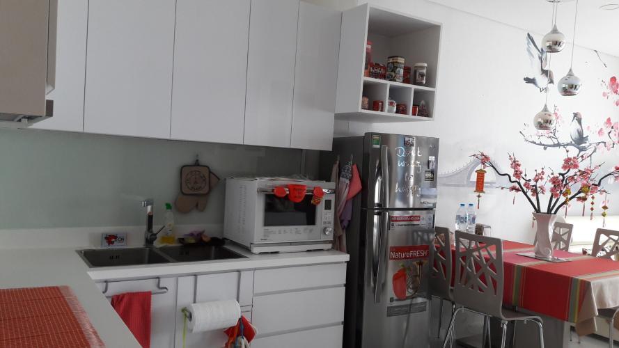 Khu vực bếp căn hộ AN GIA RIVERSIDE Bán căn hộ An Gia Riverside đầy đủ nội thất tiện nghi.