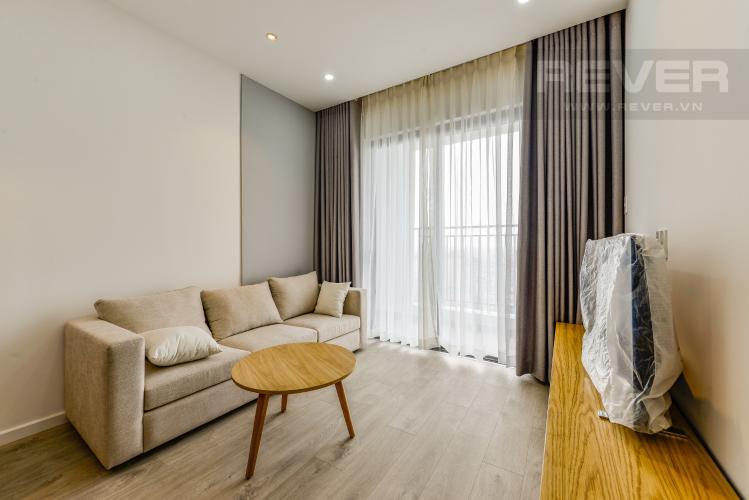 Phòng khách Cho thuê căn hộ Wilton Tower tầng cao 2PN đầy đủ nội thất