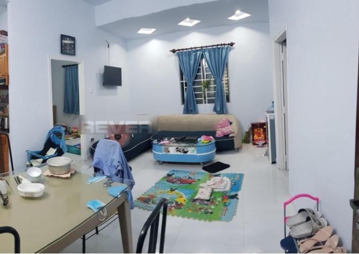 Phòng khách An Bình Plaza, Bình Dương Căn hộ An Bình Plaza ban công hướng Tây Nam thoáng mát.