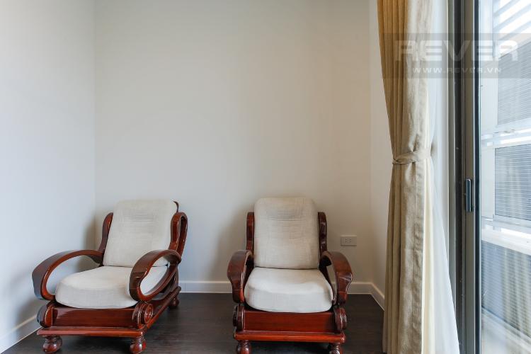 Phòng Ngủ 1 Cho thuê căn hộ The Tresor tầng cao, 3PN, view sông Sài Gòn