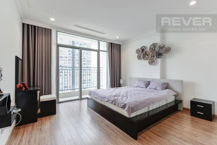 Phòng ngủ 1 Căn hộ Vinhomes Central Park 4 phòng ngủ tầng cao C2 view sông