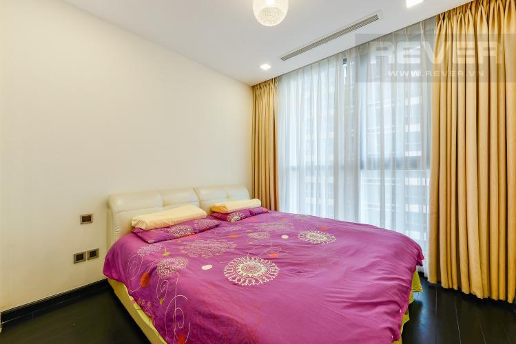 Phòng ngủ 2 Căn hộ Vinhomes Central Park 3 phòng ngủ tầng thấp P3 nội thất đầy đủ