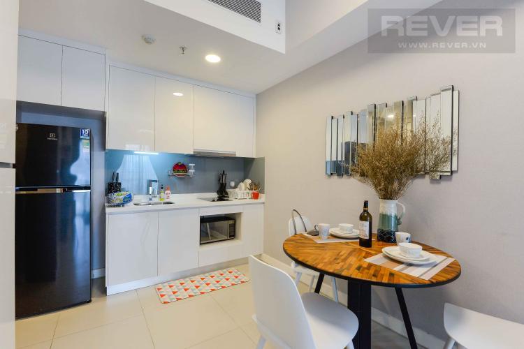 Bếp Cho thuê căn hộ Gateway Thảo Điền 1PN 52m2, đầy đủ nội thất, view Landmark 81