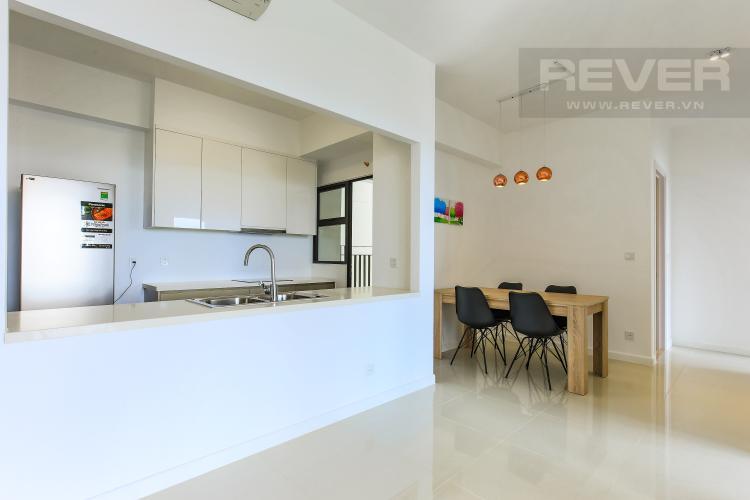 Phòng Bếp Căn góc Estella Heights 2 phòng ngủ tầng trung T2 đầy đủ tiện nghi