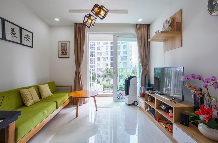Căn hộ The Krista 2 phòng ngủ tầng thấp T2 nội thất đầy đủ