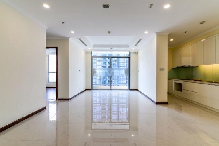 Phòng khách Vinhomes Central Park Căn hộ Vinhomes Central Park tầng 40, hướng Đông Nam.