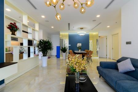 Bán căn hộ Vinhomes Golden River 3PN, tầng cao, đầy đủ nội thất, view Thủ Thiêm và sông Sài Gòn