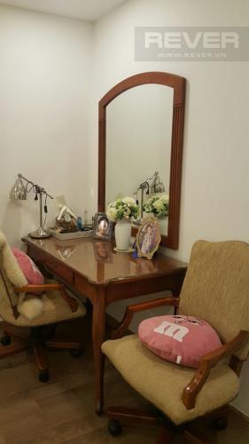 Phòng Ngủ Bán căn hộ Vinhomes Central Park 4PN, tháp Park 1, nội thất cơ bản, view trực diện sông Sài Gòn