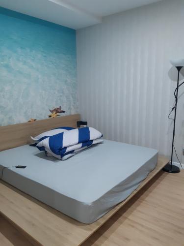 Phòng ngủ căn hộ An Gia Riverside Căn hộ An Gia Riverside đầy đủ nội thất, ban công thoáng mát.