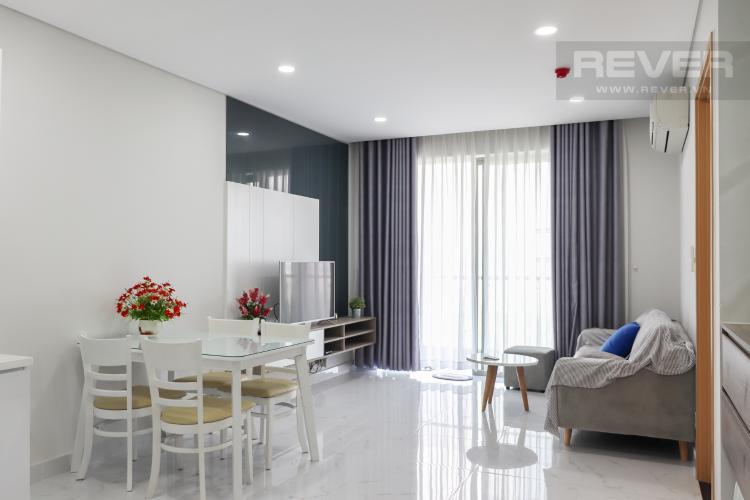 Phòng Khách Bán căn hộ An Gia Riverside 2PN, tầng thấp, diện tích 66m2, đầy đủ nội thất