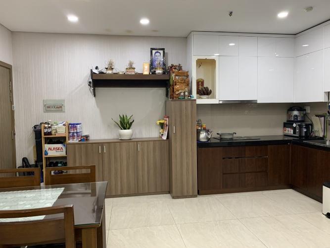 Phòng bếp Lux City, Quận 7 Căn hộ Lux City tầng 19, 3 phòng ngủ, view thành phố lung linh.
