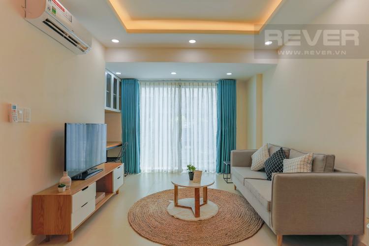 Phòng Khách Căn hộ M-One Nam Sài Gòn 2 phòng ngủ tầng thấp T2 hướng Bắc