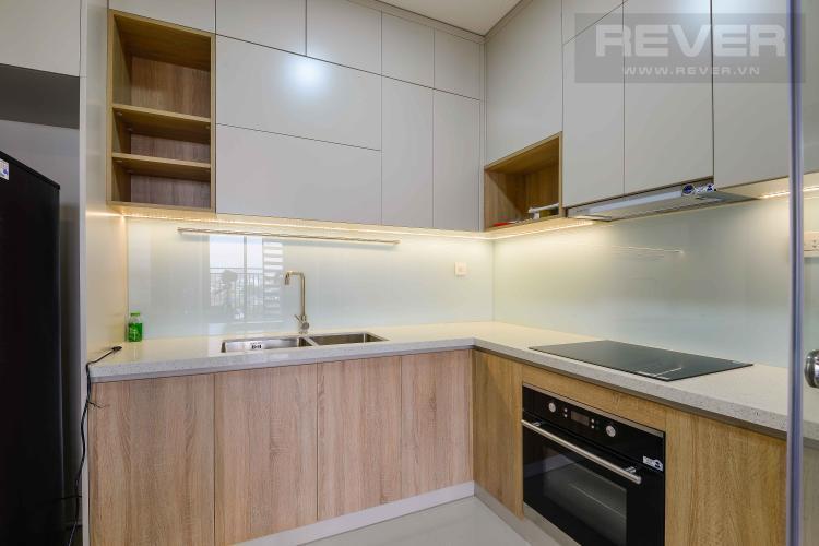 Bếp Cho thuê căn hộ The Sun Avenue 2PN, block 6, đầy đủ nội thất, hướng Đông Nam đón gió