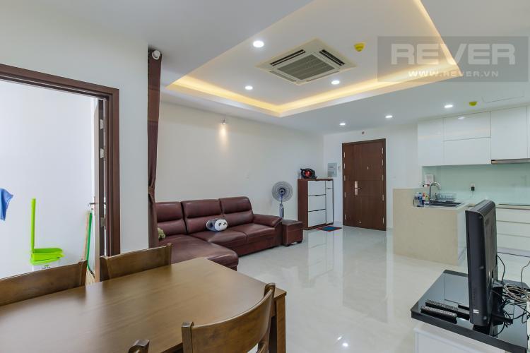 Phòng Khách Bán hoặc cho thuê căn hộ Remax Plaza 2PN, đầy đủ nội thất, diện tích 88m2, view thành phố