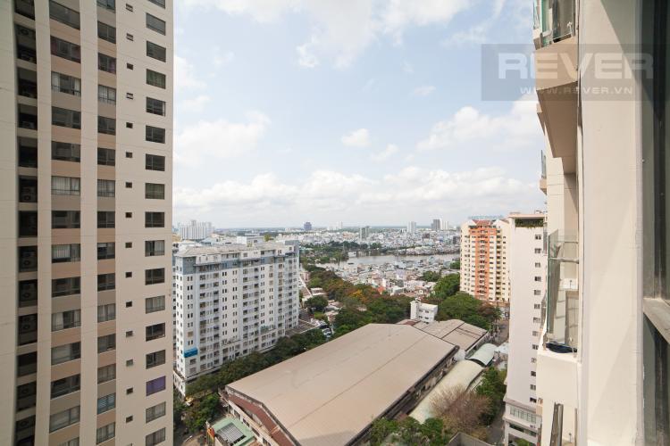 View Căn hộ The Gold View 2 phòng ngủ tầng trung A2 hướng Đông Nam