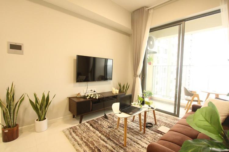 Căn hộ Masteri An Phú hướng Đông view nội khu, nội thất đầy đủ.