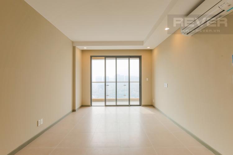 Phòng Khách Căn hộ The Gold View 2 phòng ngủ tầng cao tháp B nhà trống