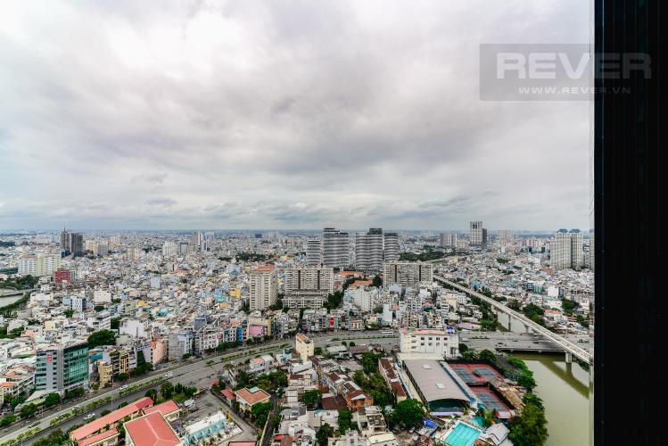 View Căn hộ  Vinhomes Golden River tầng cao 1 phòng ngủ, 55m2, full nội thất