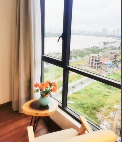 View One Verandah Quận 2 Căn hộ One Verandah tầng trung, đầy đủ nội thất, view sông lãng mạn.
