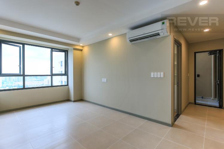 Phòng Khách Căn hộ The Gold View 2 phòng ngủ tầng cao A2 nội thất cơ bản
